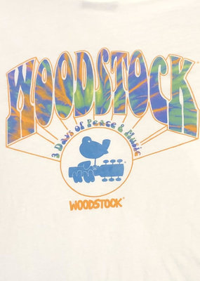 Retro Brand Retro Brand Woodstock Peace & Music Tee