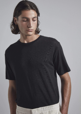 No Nationality NNO7 Dylan Linen Crew Tee