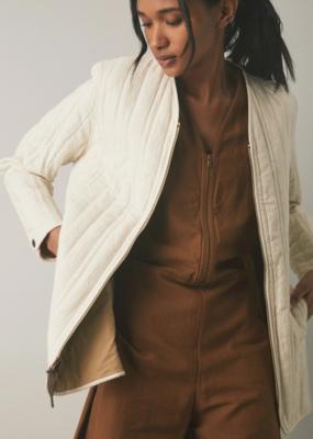 Ladies Billy Reid Ribbon Quilted Jacket