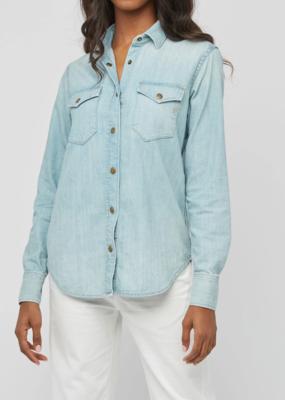 Womens Billy Reid Denim Shirt