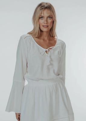 Normal Brand Bell Sleeve Mini Dress