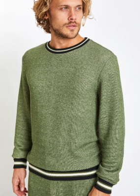 SOL Angeles SOL Angeles Contrast Stripe Roma Pullover