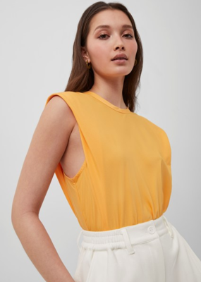 French Connection French Connection Shoulder Pad Crepe Tank