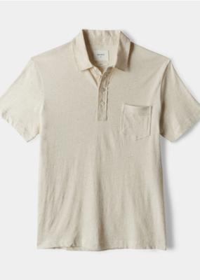 Billy Reid Billy Reid Cotton/ Linen Polo