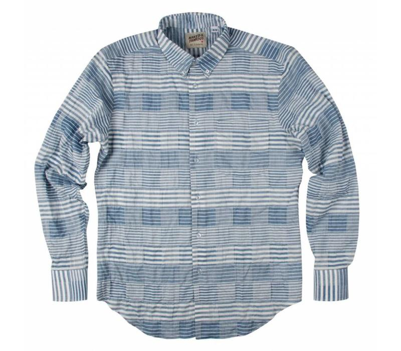 Striped Windowpane Shirt