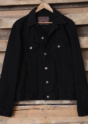 Distressed Twill Jacket