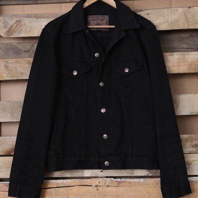 Distressed Twill Jacket