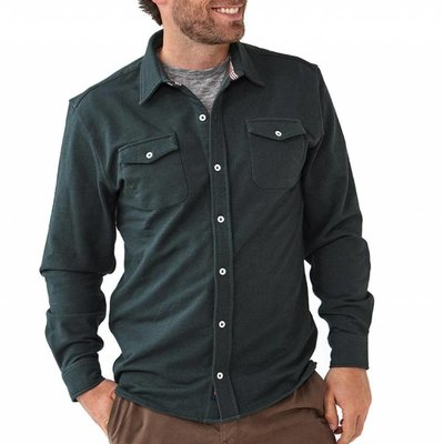 Normal Brand Knit Workman Shirt Jacket