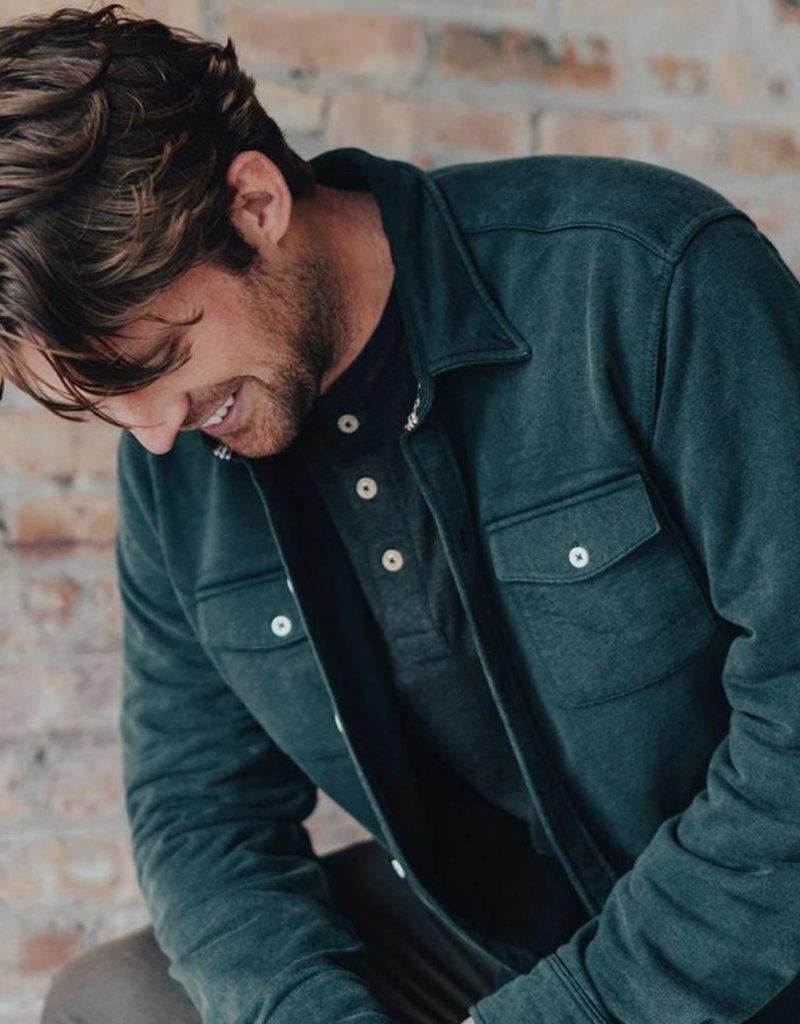 Knit Workman Shirt Jacket