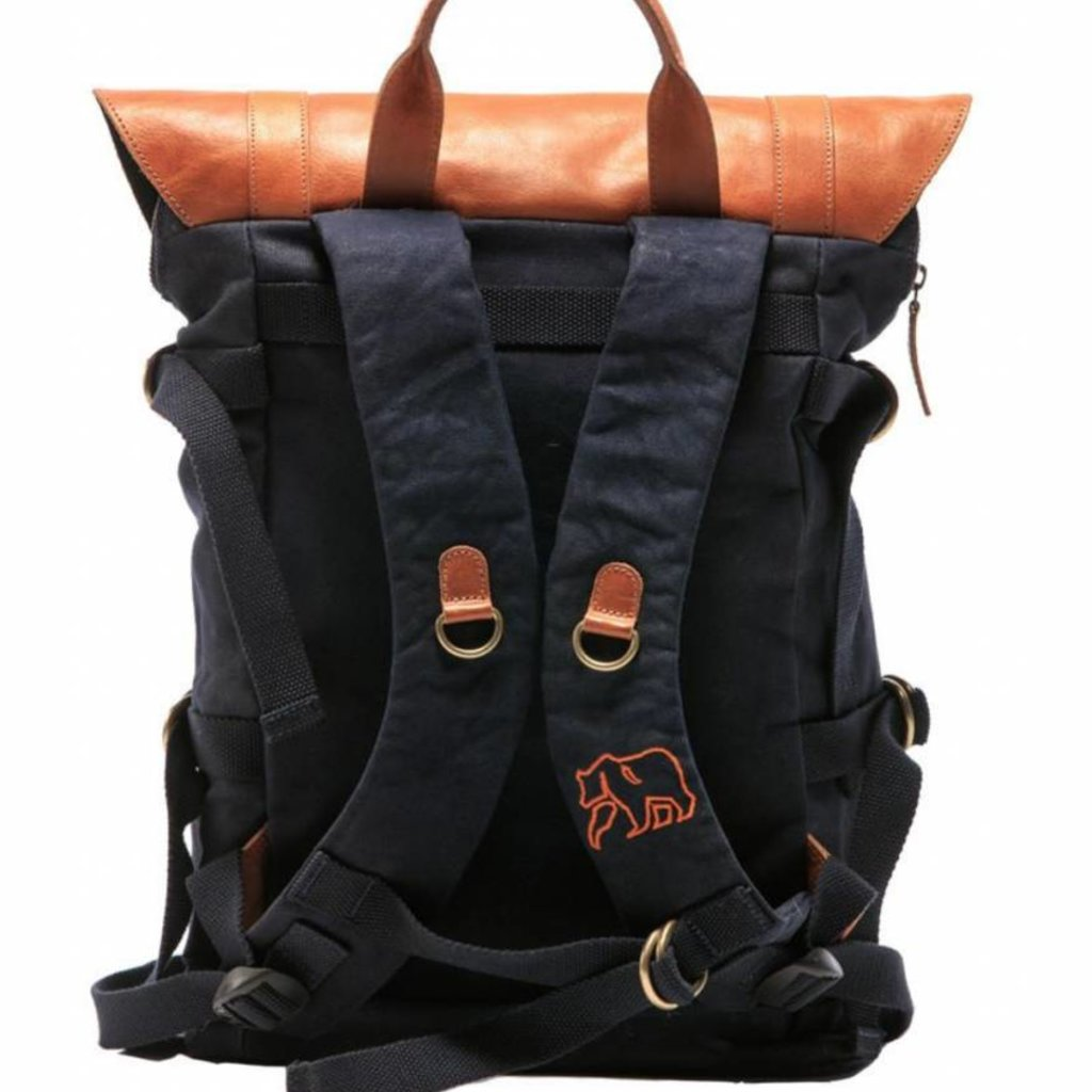 Normal Brand The Top Side Leather Backpack