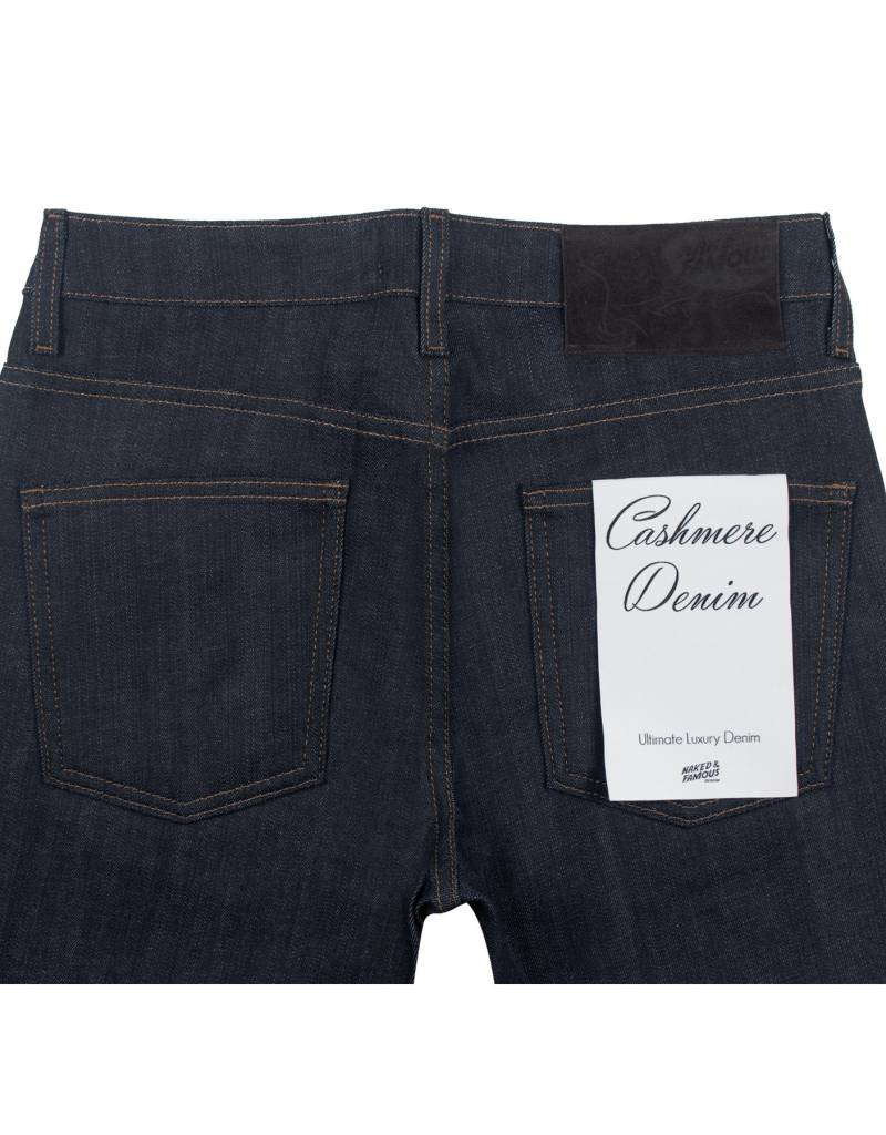 Naked & Famous Super Skinny Guy - Cashmere Blend