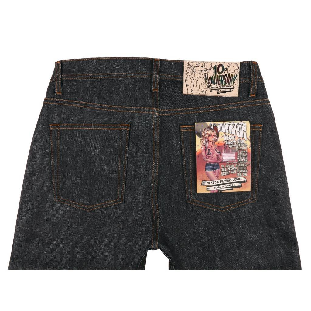 Naked & Famous Weird Guy - 10th Anniversary Selvedge