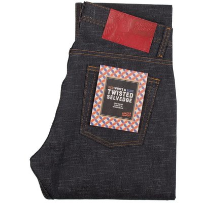 Naked & Famous Weird Guy - Red White and Blue Twisted Selvedge