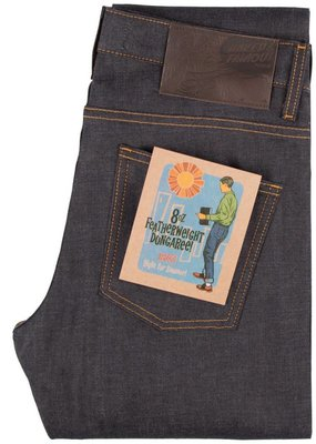 Naked & Famous Weird Guy Featherweight Dungaree