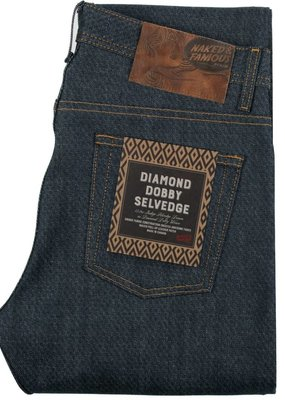 Naked & Famous Naked & Famous Weird Guy Dobby Diamond Selvedge Jean