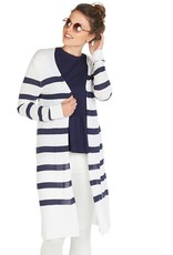 Mudpie Beau Striped Duster Cardigan