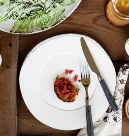 Vietri Lastra Dinner Plate White