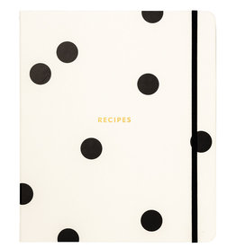 Kate Spade NY Deco Dot Recipe Book