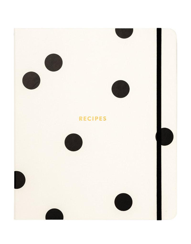 Kate Spade NY Deco Dot Recipe Book