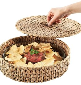 Artland Seagrass Covered Chip and Dip