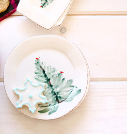 Vietri Lastra Holiday Canape Plate
