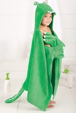 Mudpie Alligator Hooded Towel