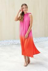 Mudpie Karen Maxi Dress in Pink