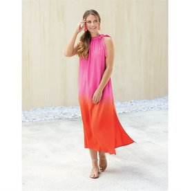 Mudpie Karen Maxi Dress in Pink