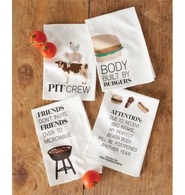 Mudpie BBQ Cotton Kitchen Towel