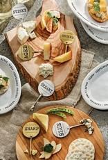 Mudpie Metal Cheese Marker Set