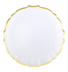 Vietri Baroque Glass Charger/Service Plate