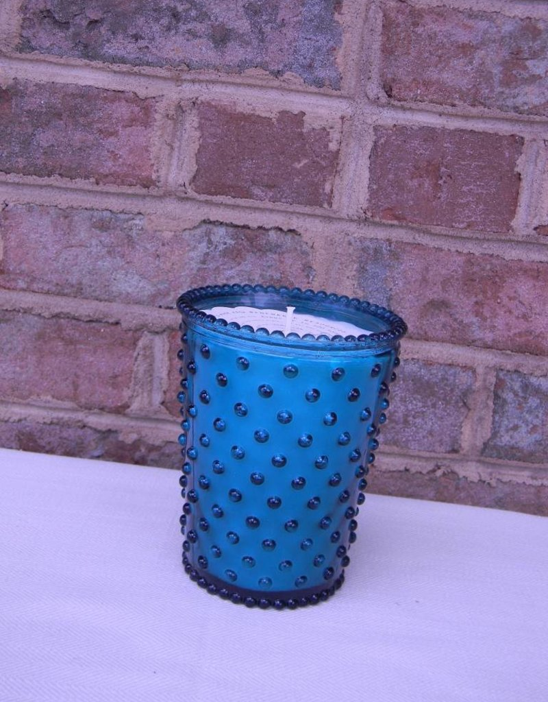Simpactio Hobnail Glass Candle