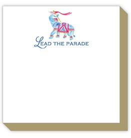 Rosanne Beck Collection Luxe Notepad - Lead The Parade (Elephant)