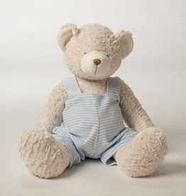 Birchwood Trading Stuffed Teddy Bear with Jumper - Blue