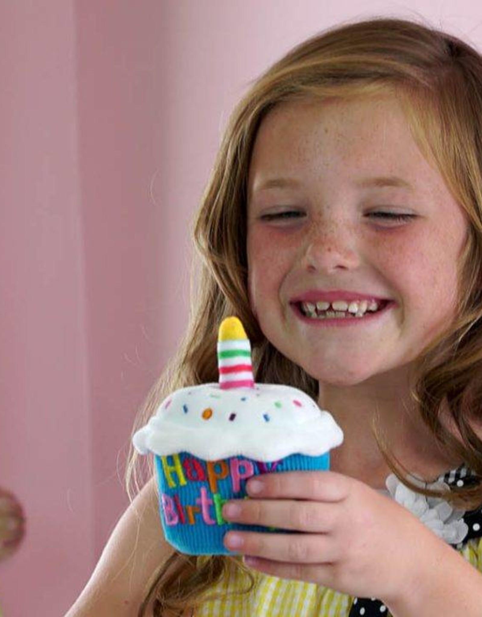 Cuddle Barn Happy Birthday Singing Cupcake