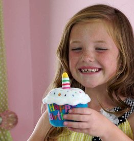 Cuddle Barn Happy Birthday Singing Cupcake
