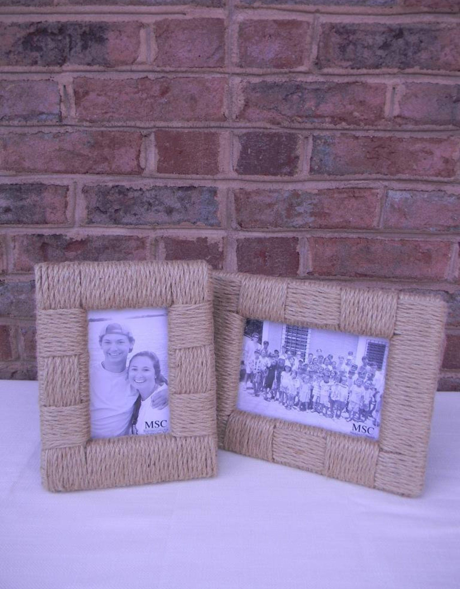 Mainstreet Collection 4 x 6 Rope Picture Frame