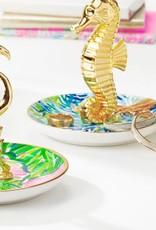 Lilly Pulitzer Wade and Sea Ring Holder (Seahorse)