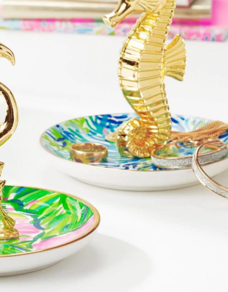Lilly Pulitzer Wade and Sea Ring Holder (Seahorse)