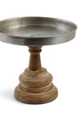 Mudpie Wood Metal Pedestal Stand