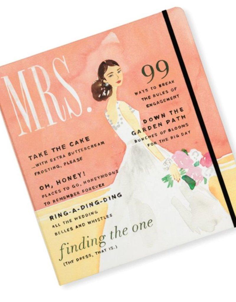 Kate Spade NY Mrs. Magazine Bridal Planner