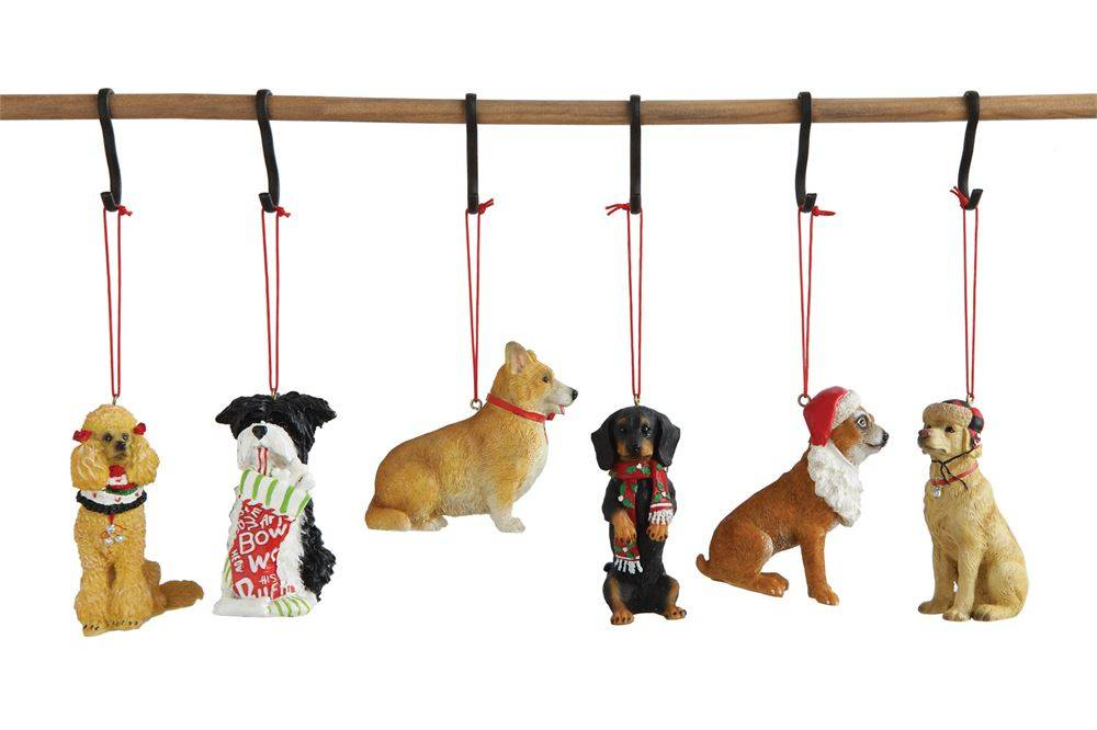 Resin Dog Ornament