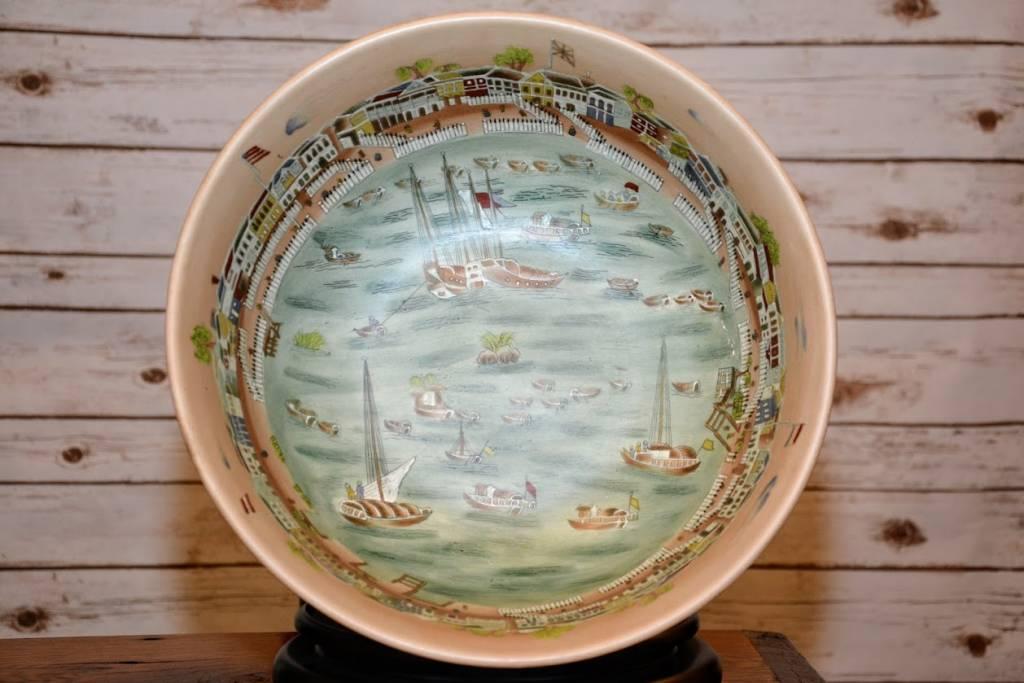 Hand-painted Ceramic Bowl