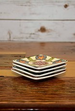 Stoneware Dish with Classic Game
