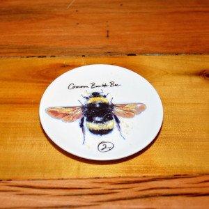 Small Stoneware Bee Dish