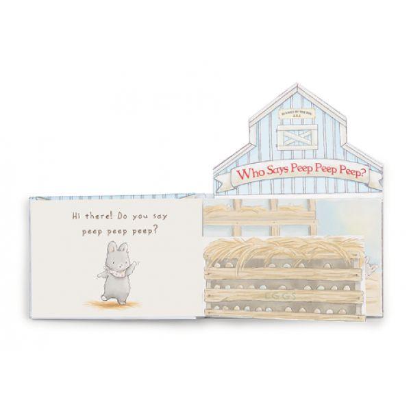 Who Says Peep Peep Peep? Board Book
