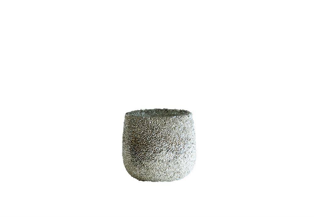 Textured Glass Votive Holder