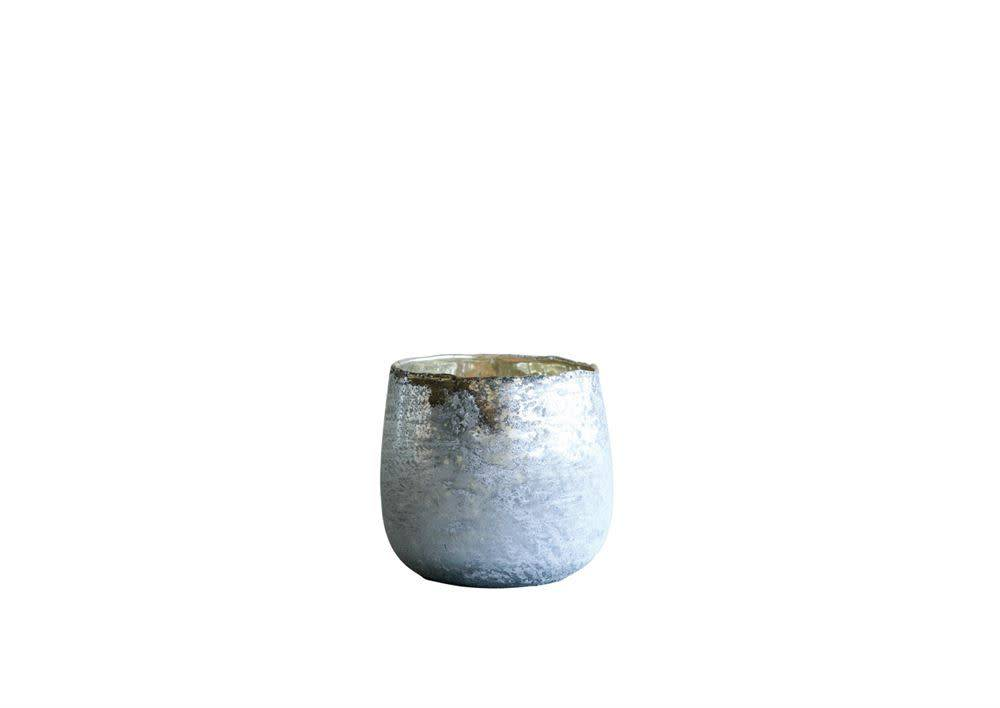 Textured Glass Votive Holder