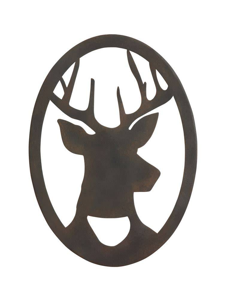 Wall Decor with Deer Silhouette