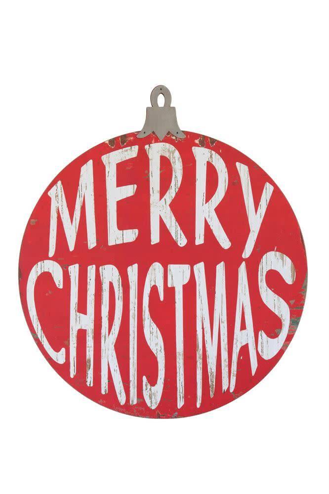 """""""Merry Christmas"""" Wall Decor"""